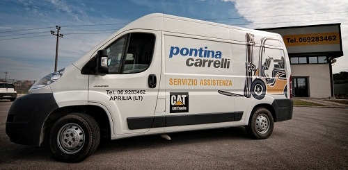 Furgone Officina Mobile Pontina Carrelli